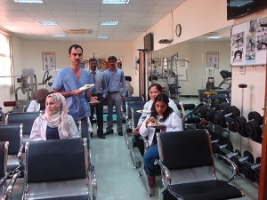 Participation at Physiotherapist Day (2)